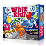 SCIENTIFIC WHIZ Science Set for Kids- Over 20 Science Experiments , Including Volcano Science kit , Polymer Beads & More