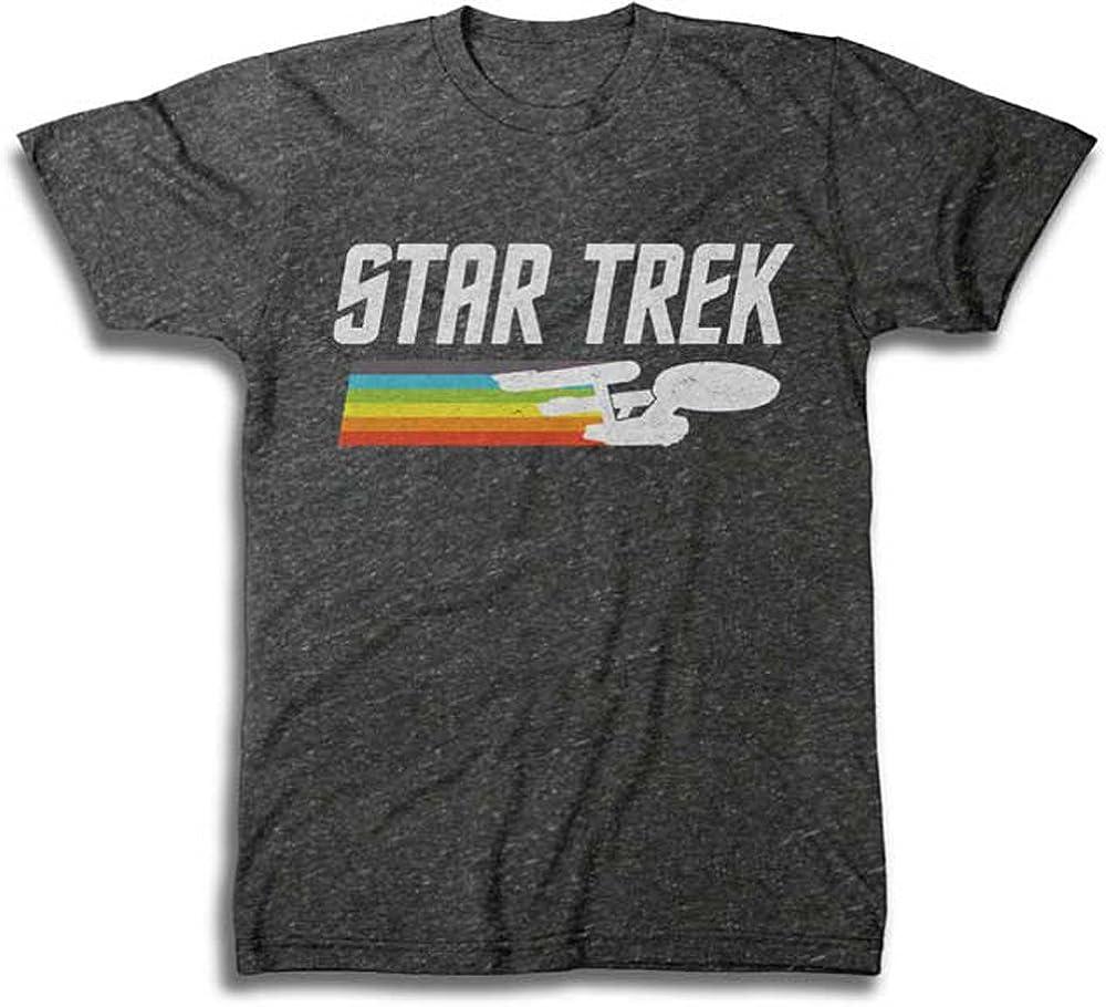 New Bombing new work York Mall Men's Star Trek T-Shirt Vintage Logo
