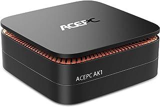 ACEPC AK1 Mini PC, Windows 10 Pro(64-bit) Intel Celeron Apollo Lake J3455 Processor(up to 2.3GHz) Desktop Computer,4GB DDR...