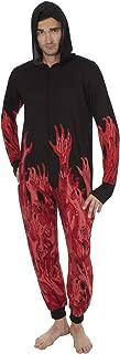 Walking Dead Men's Union Suit Hooded Onesie Pajama Costume