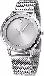 Reloj Women Relojes De Mujer En Oferta Moda Fashion Relojes de Mujer Plateados Women Quartz Stainless