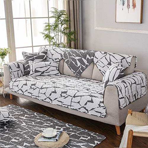 Funda Cubre Sofá Chaise Longue,Fundas de sofá con estampado de área de descanso,funda de sofá de tela de algodón de 2/3/4/5 plazas,protector de sofá de cocina,funda de muebles antideslizante-UN