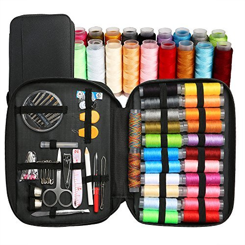 BetyBedy Sewing Kit with 94 Sewing Accessories, Mini Sewing Kits for Beginners