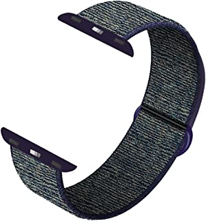 INTENY Sport Band Compatible with Apple Watch 38mm 40mm 42mm 44mm, Soft Sport Loop, Strap Replacement for iWatch Series 5, Series 4, Series 3, Series 2, Series 1