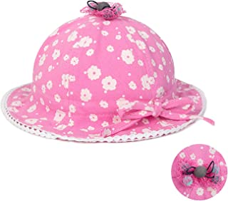 90db427d Eric Carl Baby Girl Cap Toddler Summer Cute Princess Baby Hat Bow Lace  Hollow Kids Beach