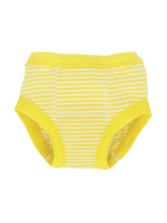 Organic Training Pants - Yellow Stripes 12-24m