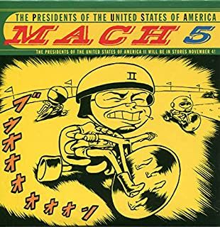 Mach 5 - Presidents Of The United States Of America CDS