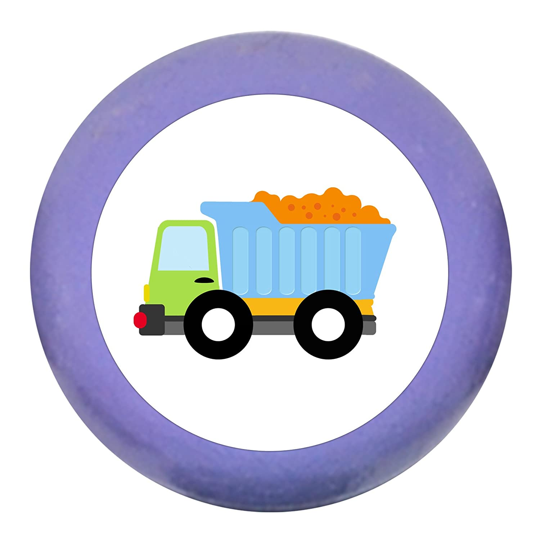M/öbelgriffLKW grau hellgrau Holz Buche Kinder Kinderzimmer 1 St/ück Fahrzeuge Transportfahrzeuge Traum Kind