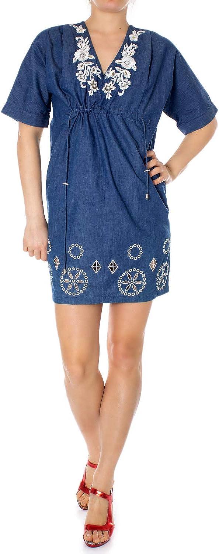 Desigual Woman Short Dress Vest Electra 19swvd04