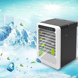 MISS YOU Aire Acondicionado Mini Ventilador USB Oficina en casa Enfriador de Aire de Dormitorio Mini acondicionador de Aire refrigerador portátil de humidificación