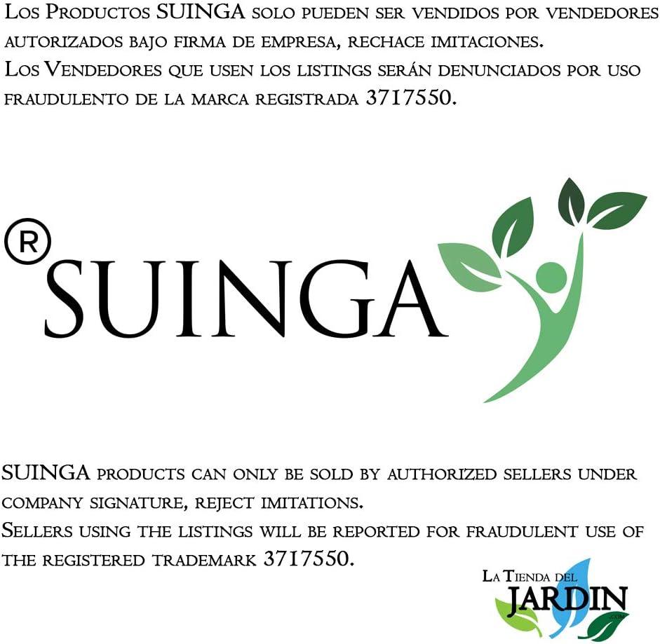 105 gr//m2 Evita la presencia de malas hierbas en la superficie del suelo Suinga MALLA ANTIHIERBAS marr/ón 1,25 x 10 m
