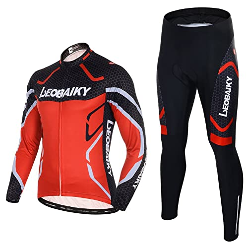 9f0c5849e Maxmer Men Cycling Clothing Sets Suit Spring Autumn Long Sleeve Cycling  Jerseys Jacket Outdoor Sportswear Clothes