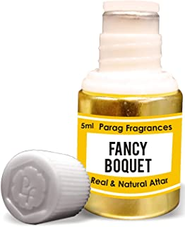 Parag Fragrances Fancy Boquet Attar 5ml (Alcohol Free Long Lasting Attar For Men or Religious Use) Traditional Bhapka Proc...