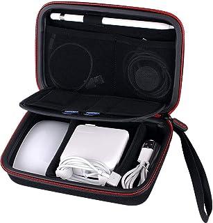 Smatree PC周辺小物整理ケース/ラベルポーチ 移動式仕切りApple Pencil、Magic Mouse、Magsafe電源アダプター、磁気充電ケーブルなど収納ケース、モバイルバッテリー ケース
