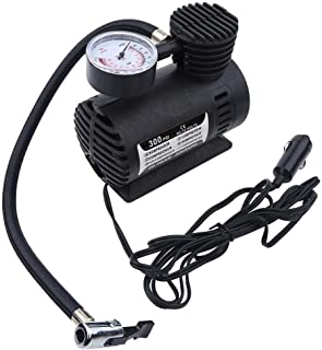 Rockyin 12 Volt Pumpe Tragbare Mini-Luftverdichter elektrische Reifen Infaltor Pumpe 12 Volt Auto-300 PSI