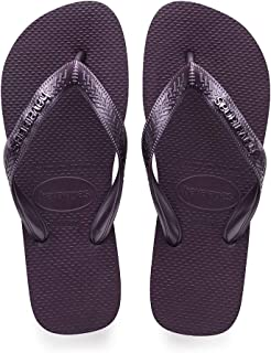 Havaianas Women's Top Logo Metallic Flip-Flops