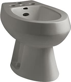 Kohler K-4854-K4 San Tropez Bidet, Plumbed for Vertical Spray Bidet Faucet, Cashmere