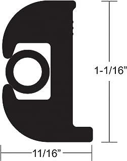Boating Accessories New Flexible Vinyl Rub Rail Kit taco Metals V11-0809bbk50-2 Black/Black 1-1/16