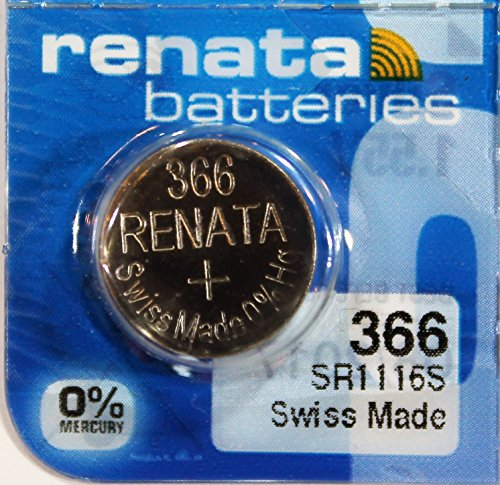 Renata - Pile bouton oxyde argent 366 RENATA 1.55V 40mAh - Blister(s) x 1