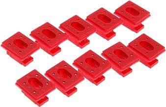 Mtsooning 10pcs Dashboard Dash Trim Clip Grommet Inserts for BMW 3 7 X3 Series E46 E65 E66 E83 51458266814