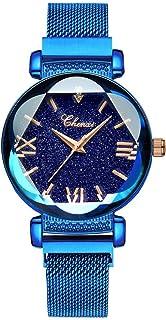 Sponsored Ad - Luxury Women Watches Analog Quartz Watch Bracelet Watch Mesh Band Waterproof Wrist Watches for Ladies