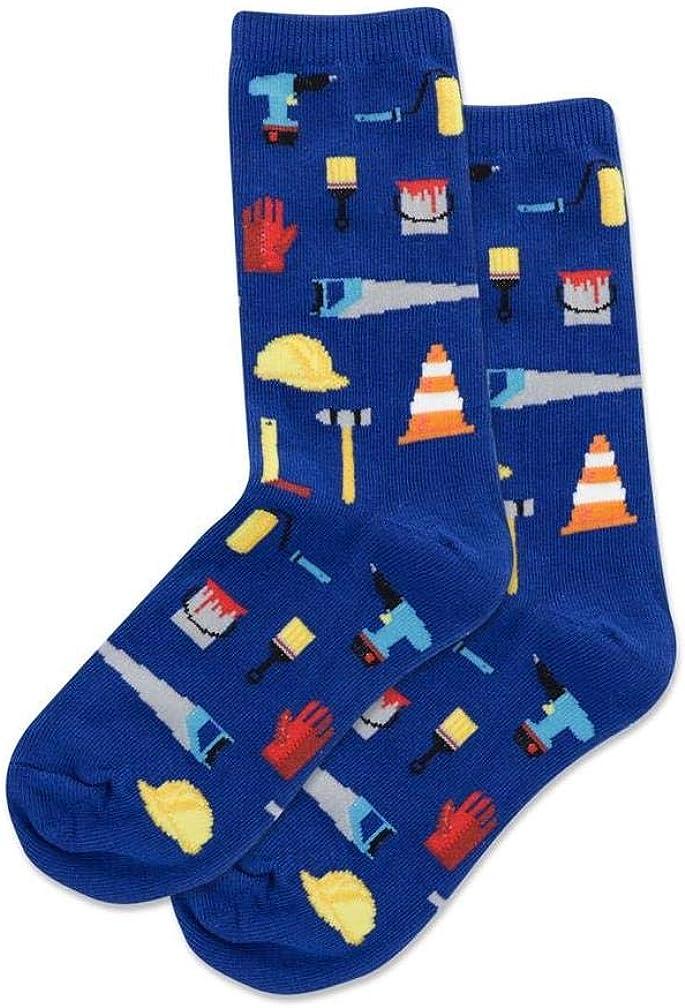 Hotsox Kid's Tools Crew Socks 1 Pair