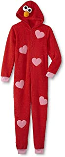Sesame Street Adult Womens Onesie Pajama Characters Union Suit