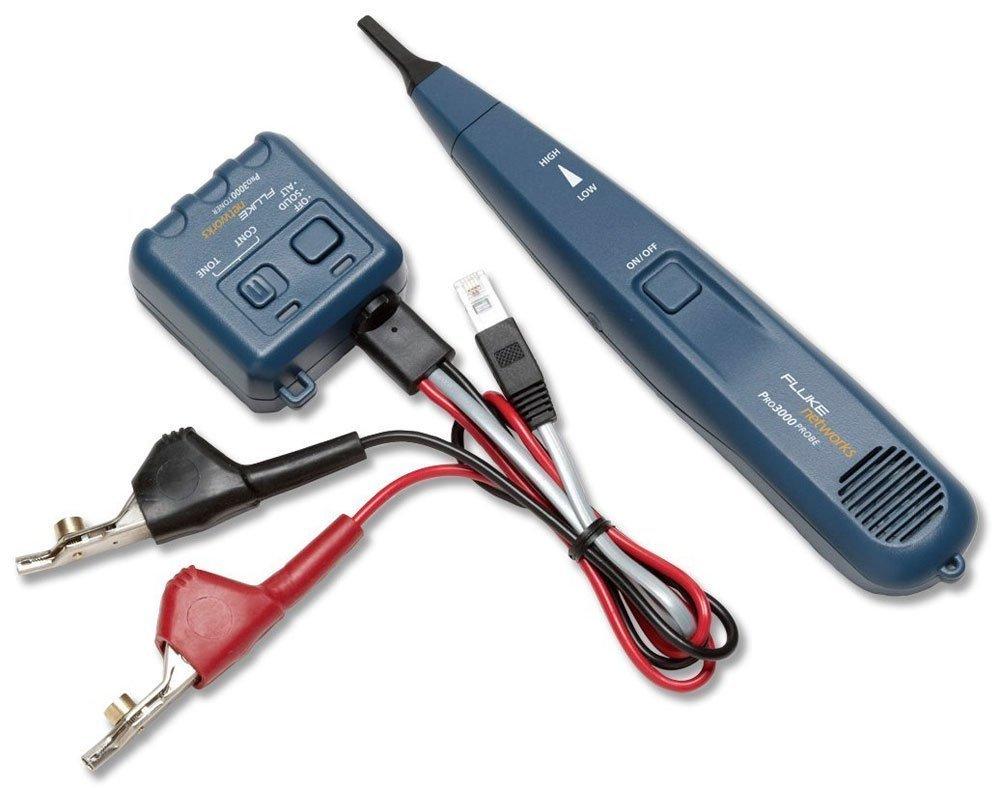 Fluke Pro3000 Azul - Probador de cable de red (9 V, -20 - 60 °C, -40 - 70 °C)