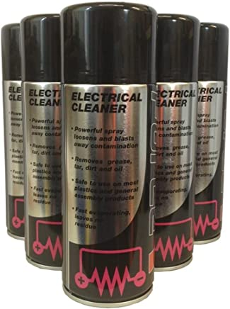 PACK 400ml Electrical Cleaner Spray general Purpose Solvent Cleaner for Electrical Terminals etc
