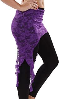 Belly Dance Lace Hip Scarf   Tribal Fusion Drape