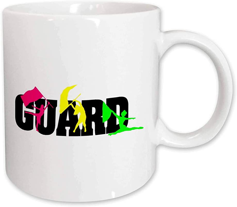 3dRose Color Guard Ceramic Mug 11 Ounce