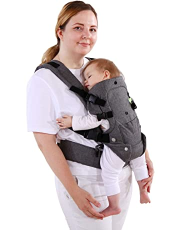 1xInfant 4 In1 Baby Carrier Backpack Ergonomic Newborn Carrier Wrap Infant Sling