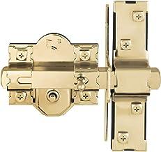 Concise Home Unilateral 50mm lange gooi poortslot 3 toetsen tuinvergrendeling (goud)
