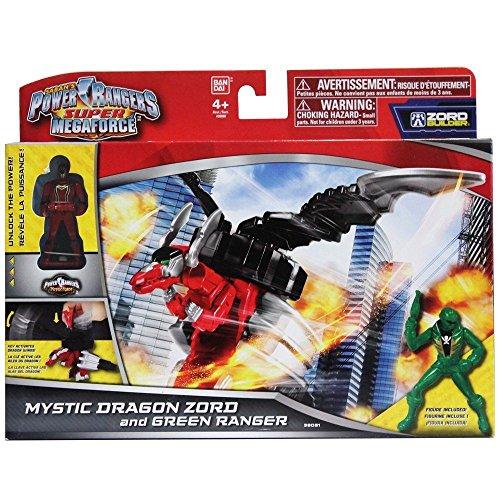 Power Rangers Super Megaforce Mystic Dragon Zord & Green Ranger #38081 (Se distribuye desde Reino Unido)
