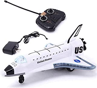 2.4G New Aircraft Toys Electric RC Airplane Glider Remote Control Model Flashing Lights Engine Sounds Ground Remote Contro...