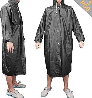 MAGARROW Outdoor Regen Poncho Wasserdichter Leichter Regenmantel Poncho mit Verstellbarer Kapuze f/ür M/änner Frauen Erwachsene Outdoor Radfahren Camping Wandern