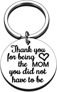 Mother's Day Keychain Mom Gifts for Step Mother New Mom Adoptive Mother Wife from Daughter Son Birthday Anniversary Weddin...