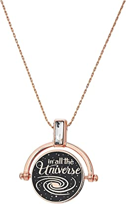 Wrinkle In Time - Most Beautiful Dream Spinner Expandable Necklace