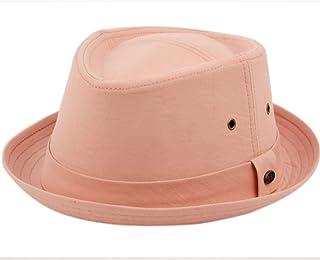 ecdde61d998 Epoch hats Mens Summer Fedora Cuban Style Upturn Short Brim Hat