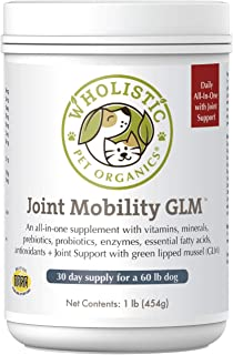 Wholistic Pet Organics Canine Complete Plus Joint Mobility with Green Lipped Mussel Supplement