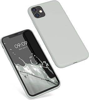 kwmobile Hülle kompatibel mit Apple iPhone 11   Handyhülle   Handy Case in Hellgrau matt