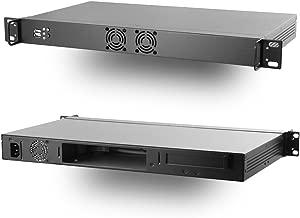 MITXPC M1U04 Mini 1U Mini-ITX Rackmount Case w/ 250W 80PLUS Flex ATX Power Supply