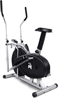 4 in 1 Elliptical Cross Trainer Exercise Bike Machine Home Gym Fitness Bicycle