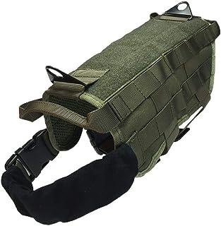Huhuswwbin - Arnés táctico Militar de Entrenamiento para Mascotas, para Caza, al Aire Libre