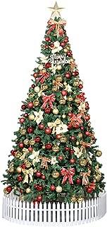 DUYQ Pre-Decoradas Árbol De Navidad Artificial Luces De &