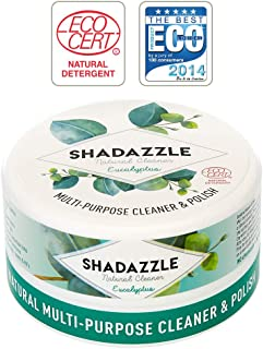 Shadazzle Natural All Purpose Cleaner and Polish – Eco Friendly Multi-Purpose Cleaning Product – Cleans, Polishes & Protects Any Washable Surface (Eucalyptus)