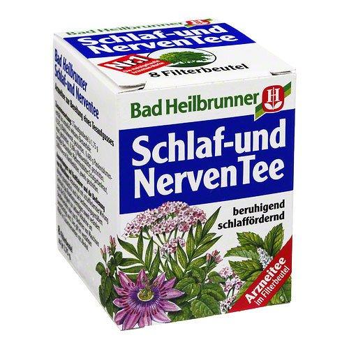 Bad Heilbrunner Schlaf und Nerven Tea / sleeping and nerv (4 Packs...
