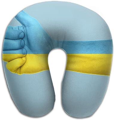 1ec745ee1cb1 Amazon.com: KIENGG Waving Flag of Saint Vincent Memory Foam U-Shaped ...