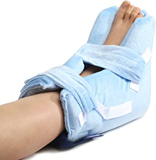MediChoice Pressure-Relieving Heel Protector, Premium, with Gel Pack, Microfiber Fabric (Each of 1)