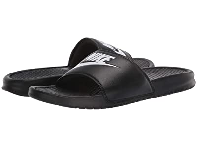 Nike Benassi JDI Slide (Black/White) Men